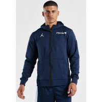Men's Nike navy France Thermaflex Showtime Hoodie New Arrival KGNXX498