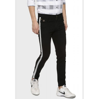 Men Campus Sutra Jeans with Side Stripes Discount JMAVF808