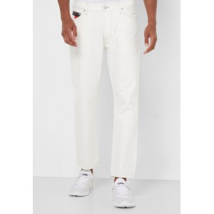 Men Tommy Jeans white Light Wash Tapered Jeans New Arrival NC42M7716