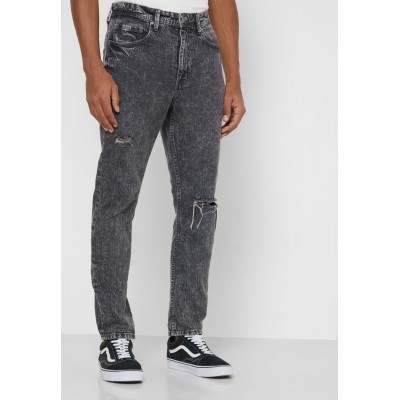 Men Cotton On grey Light Wash Tapered Jeans AP6W47023