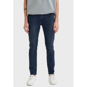 Men's Defacto blue Mid Wash Straight Fit Jeans I77FN2873