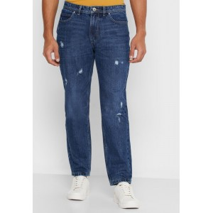 Men's Lee Cooper blue Distressed Straight Jeans Selling Well 036TG5916