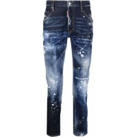 Dsquared2 Skater skinny jeans Blue Cotton in new look Men MZWV1669