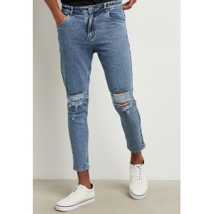 Men Styli blue Ripped Skinny Fit Jeans Selling Well HGDRX5168