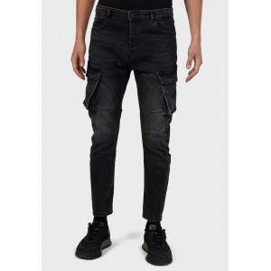 Men's Iconic blue Mid Wash Skinny Fit Jeans Ships Free V79AS3824