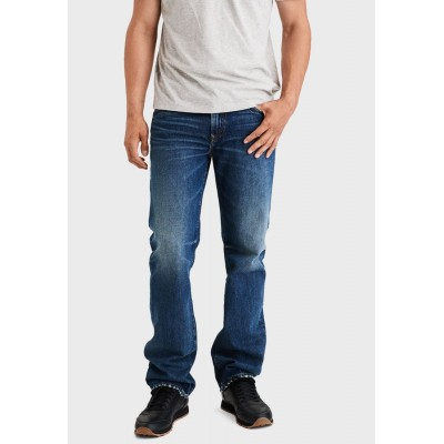Men American Eagle blue Mid Wash Relaxed Jeans VSOFG5881