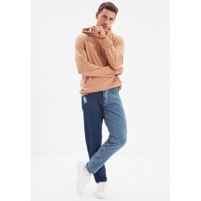 Men Trendyol blue Two Color Relaxed Fit Jeans YIK781279