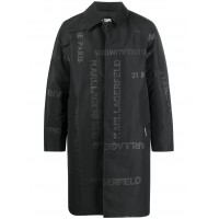 Karl Lagerfeld Men Trench con stampa In Store MTUX132