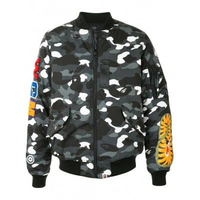 A BATHING APE® Men Bomber con stampa camouflage most comfortable VSFR268