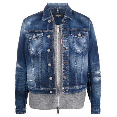 Dsquared2 Men Giacca denim Clearance YZGX942