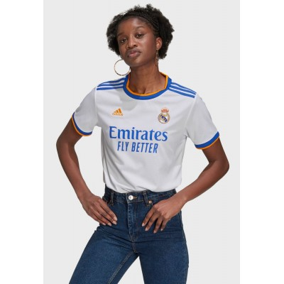 Men adidas white Real Madrid Home Jersey On Sale PQHL43002