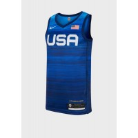 Men's Nike blue USA Blink Olympic Limited 3rd Jersey 26OC67444